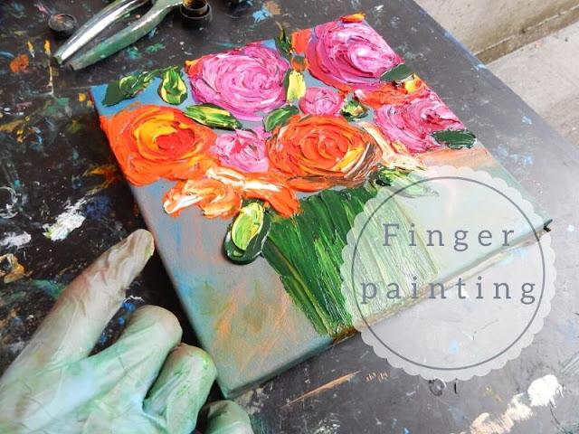 dipinto impressionista di Chiara Magni