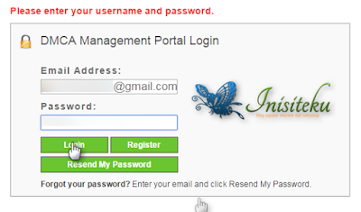 memasang badges DMCA untuk blogger