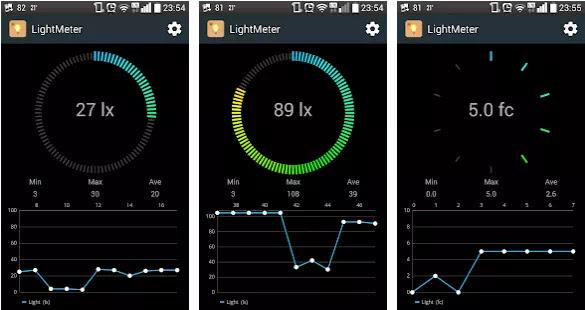 Aplikasi Pengukur Cahaya Gratis Terbaik-5