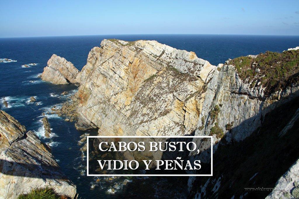 Busto, Vidio y Peñas: tres espectaculares cabos asturianos