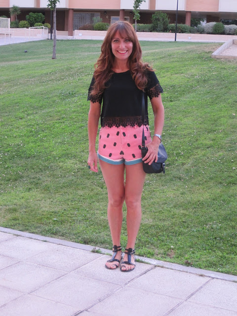 Short sandía / Watermelon short