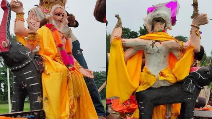 బీహార్: తమ ప్రాంతంగుండా విశ్వకర్మ విగ్రహాన్ని ఊరేగింపుగా తీసుకెళ్తున్నందుకు హిందువులపై దాడి చేసిన ముస్లిం మూక - Hindu group attacked by Mohammed Nirala, Sarfaraz and others as Vishwakarma idol procession passes through Muslim colony