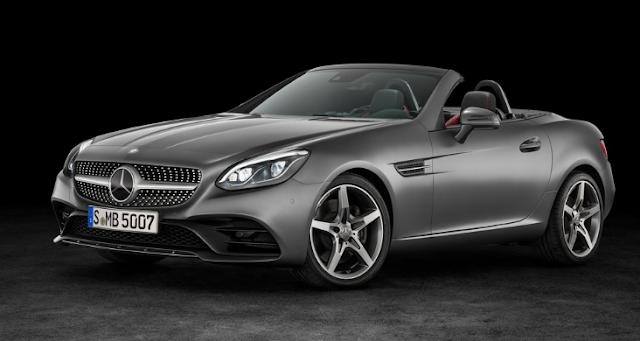 2018 Mercedes SLC Design