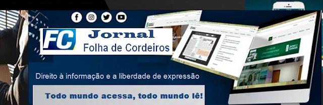 Jornal Folha de cordeiros Editorial