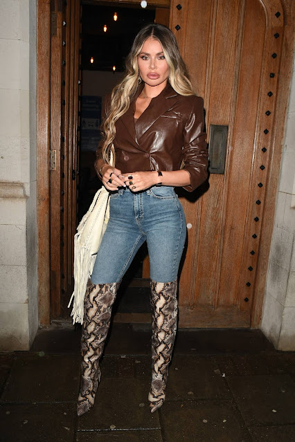 Chloe Sims – Night out in Essex