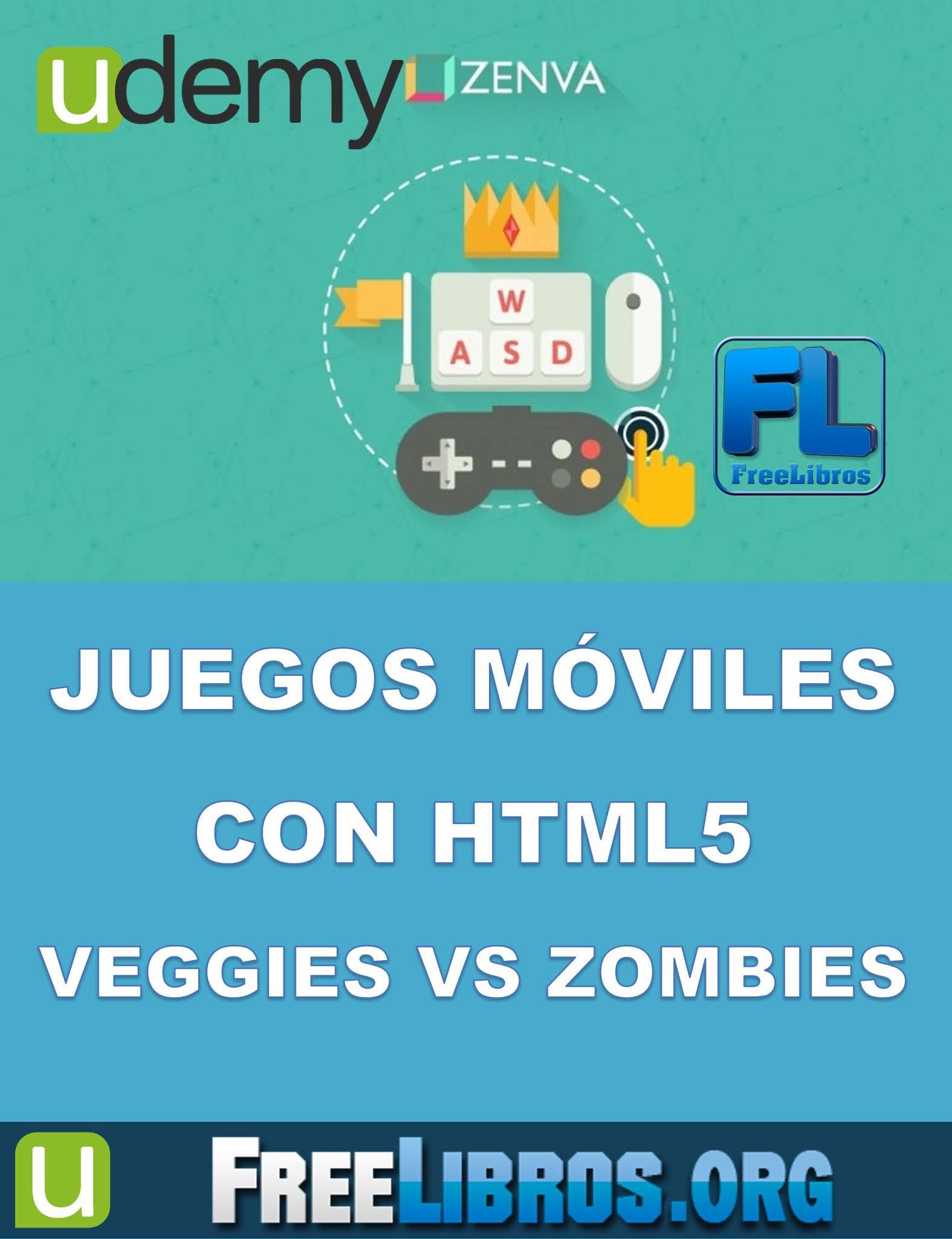 Curso de Juegos Móviles con HTML5: Veggies vs Zombies – Udemy