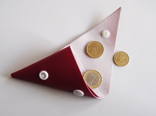 DIY : porte-monnaie en simili cuir
