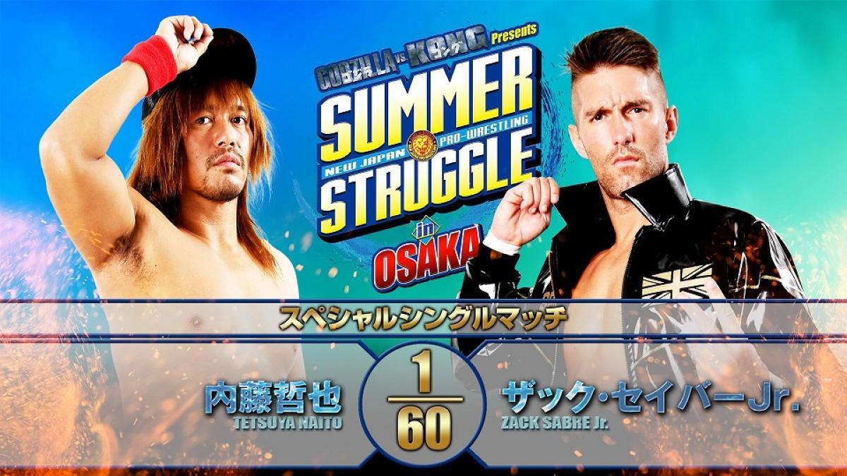 Cobertura: NJPW Summer Struggle In Osaka 2021 – Day 2 – Estelar!