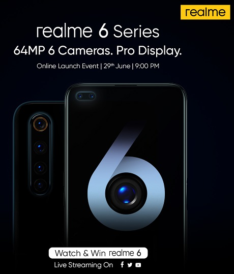 realme 6 Series Smartphones Launch Event Saudi Arabia