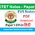 Important Notes For CTET Paper-1 EVS PDF