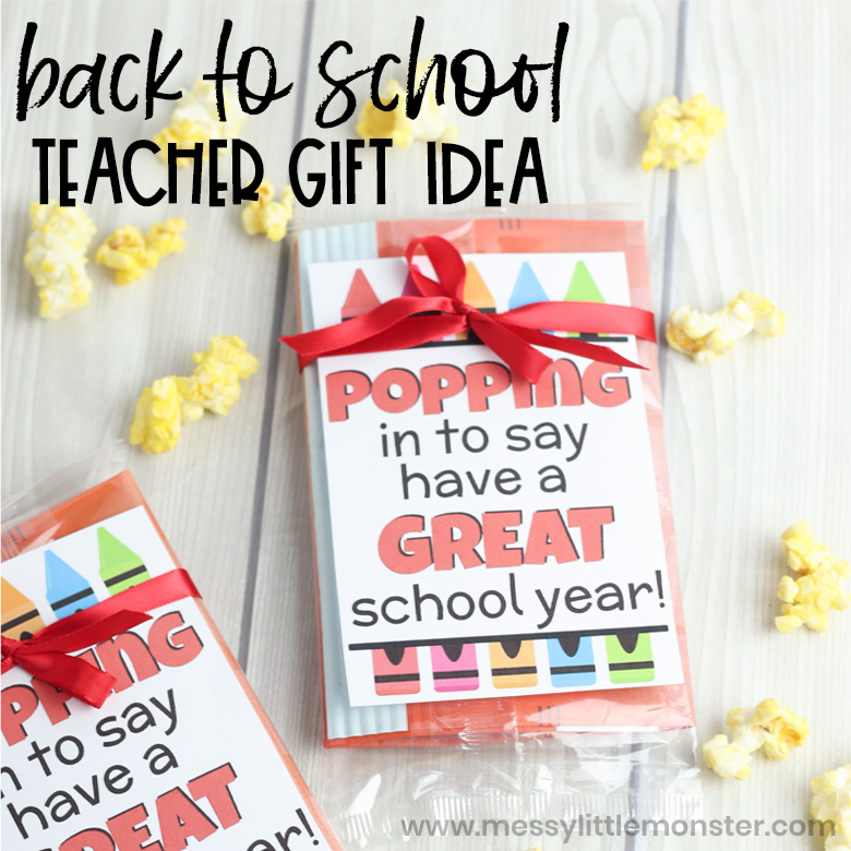 back to school teacher gift - have a great school year printable