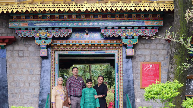 Colorful Entrance of Norbulingka Institute