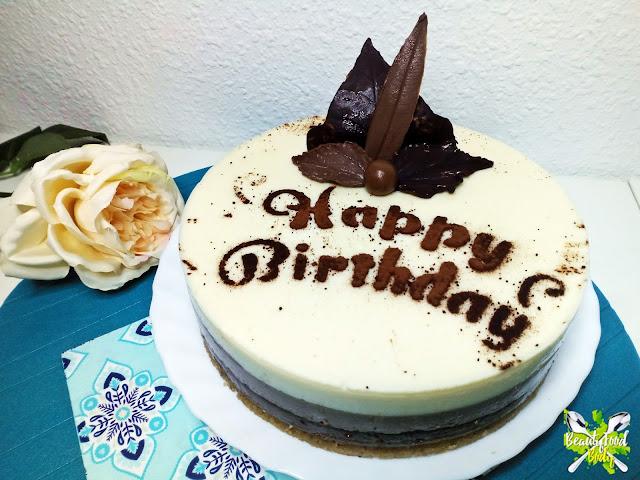 receta tarta 3 tres chocolates BFB