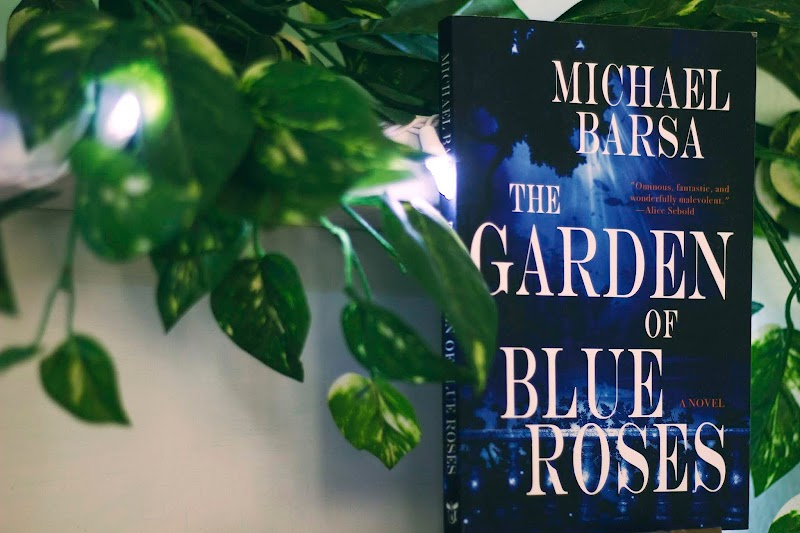 { The Garden of Blue Roses by Michael Barsa - TLC Book Tour }