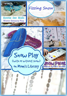 Snow Play on Mom's Library