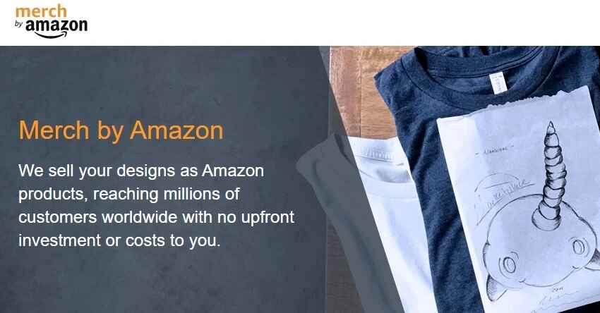 تصميم تيشرتات امازون - الحصول على تصاميم مجانية لبيعها في Merch By Amazon