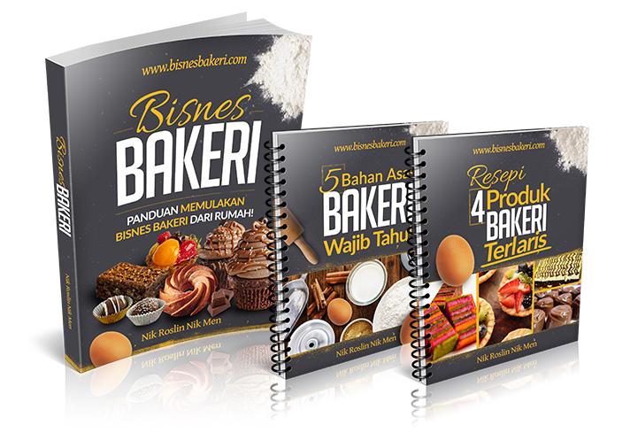 Peluang Buat Bisnes Bakeri Untuk Surirumah Dengan Pakej Panduan Bisnes Bakeri