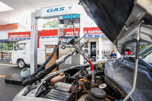 Detran-Pr agiliza serviços para veículos movidos a GNV