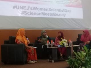 LP2M Unej Gelar Woman Scientist Day