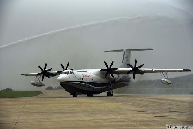 Thủy phi cơ AG600