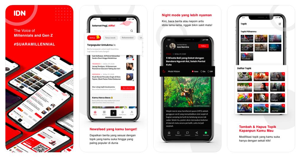 Review Aplikasi IDN App