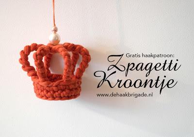 Broche Corona en Crochet. Tutorial