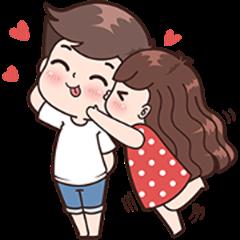 Boobib Cute Couples ( For Girl ) Vol.2