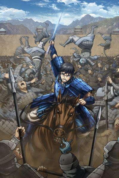 Anime kingdom Season 3 Mengungkap Staf Baru