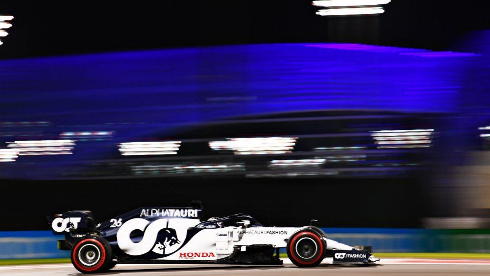 A última corrida de Kvyat foi o Grande Prêmio de Abu Dhabi de 2020