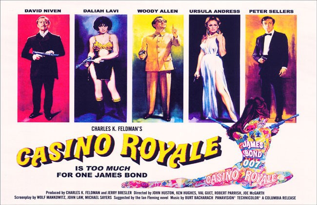 BOND: 10 Things You Might Not Know About CASINO ROYALE (1967) - Warped Factor - Words in the Key of Geek.