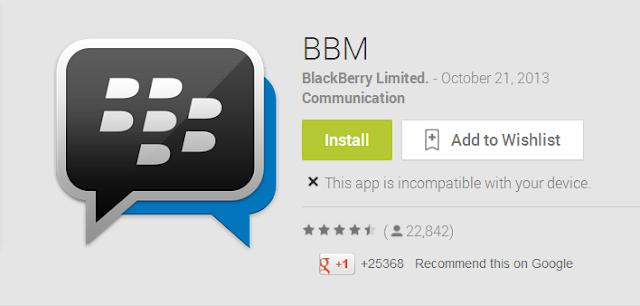 BBM Untuk Android dan iOS Bisa Di Download