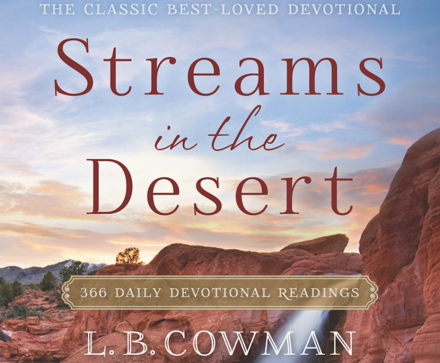 Human Suffering - Streams in the Desert - September 8 2019