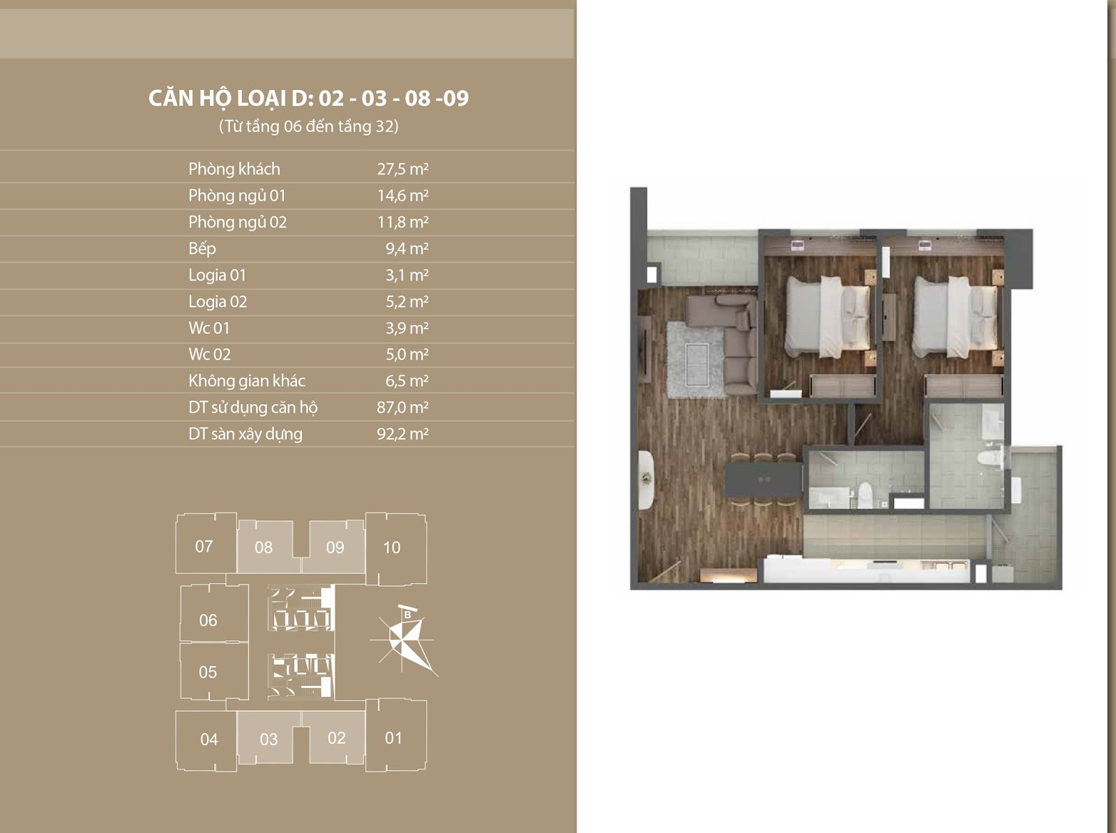 Bán lại căn số 09 tầng đẹp giá 31tr/m2 - Chung cư Phú Mỹ Complex