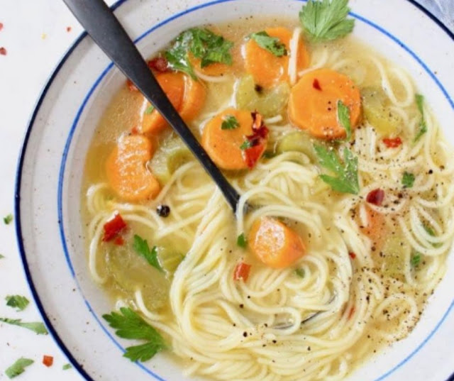 Easy Vegan Vegetable Noodle Soup Recipes