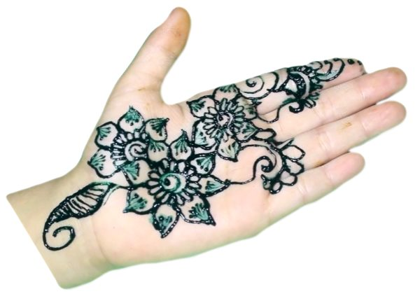 Flower Mehndi Designs