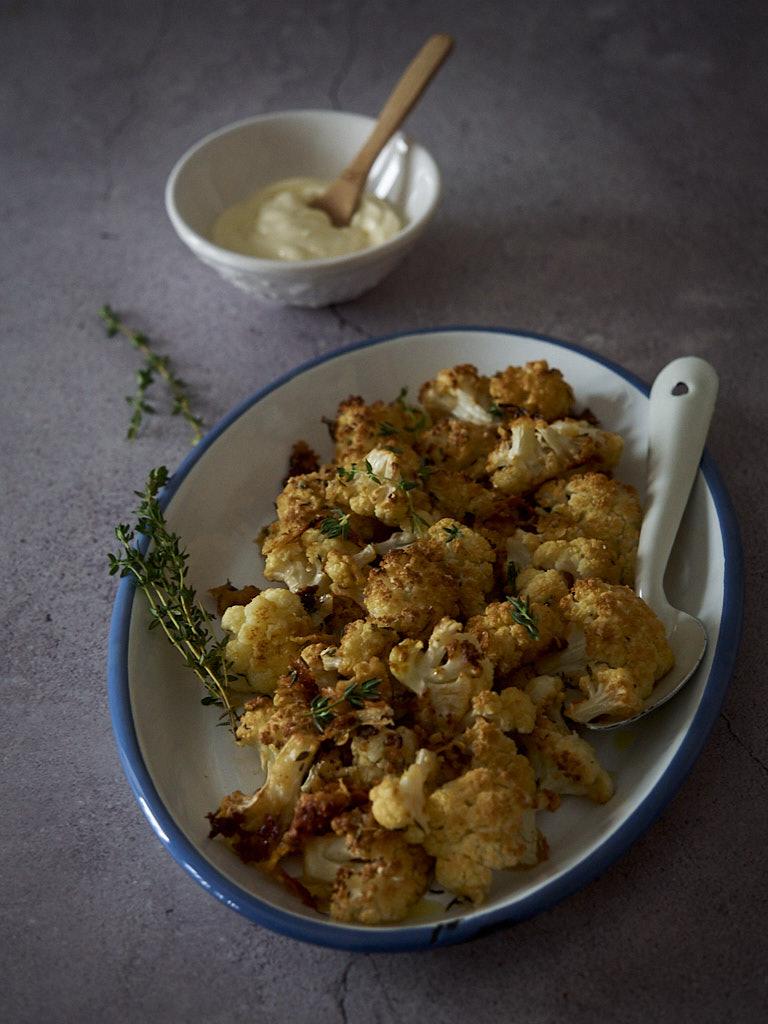 coliflor-al-horno-con-queso-parmesano