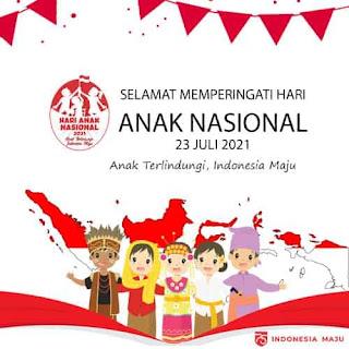 wallpaper hari anak nasional