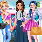 لعبة أزياء تلبيس الأميرات الطالبات