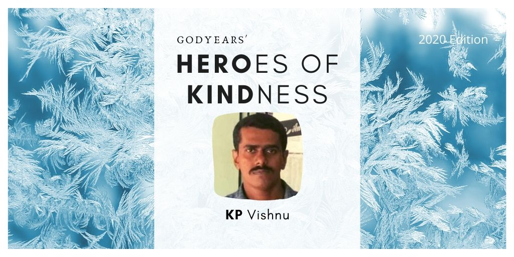 KP Vishnu drove 150 kms during the COVID lockdown to deliver medication to a little girl he did not know