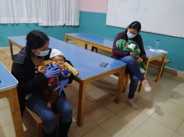 madres con bebes acogidas en hogaresmd