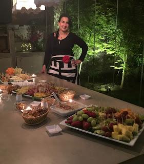 Cóctel a domicilio evento banquetera cumpleaños