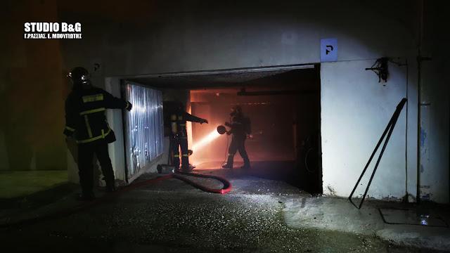 Ναύπλιο:Η φωτιά και οι εκρήξεις σε αυτοκίνητο με υγραεριοκίνηση που προκάλεσε πανικό