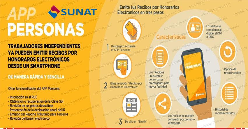EMITIR RECIBO POR HONORARIOS ELECTRÓNICO 2021: Independientes ya pueden gestionar desde el celular con aplicativo de la Sunat