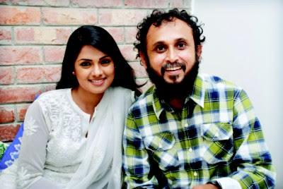 Nusrat Imroz Tisha with Husband Mostafa Sarwar Farukee