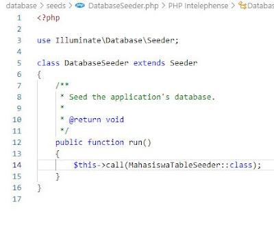 Laravel Database Programming