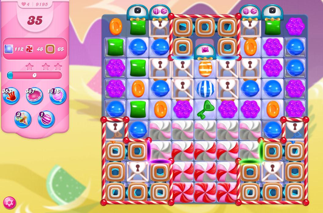 Candy Crush Saga level 9195