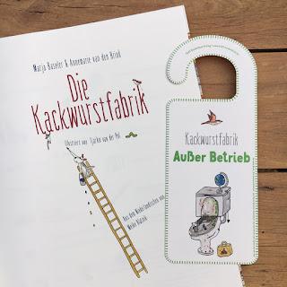 """""""Die Kackwurstfabrik"""" von Marja Baseler und Annemarie van den Brink, illustriert von Tjarko van der Pol, Verlag Klett Kinderbuch, Kindersachbuch ab 7 Jahren"""