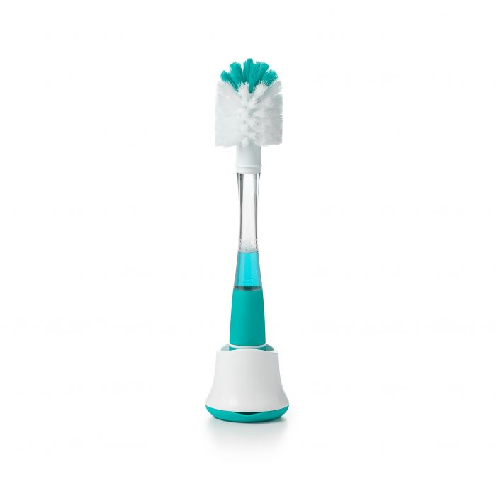 Soap Dispensing Bottle Brush with Stand