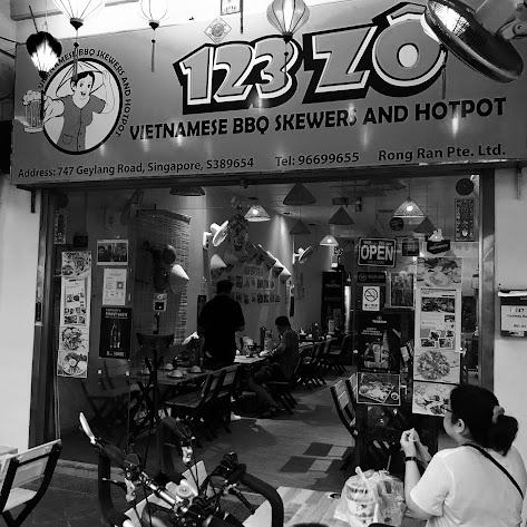 123 ZÔ Vietnamese BBQ Skewers and Hotpot, Geylang Road