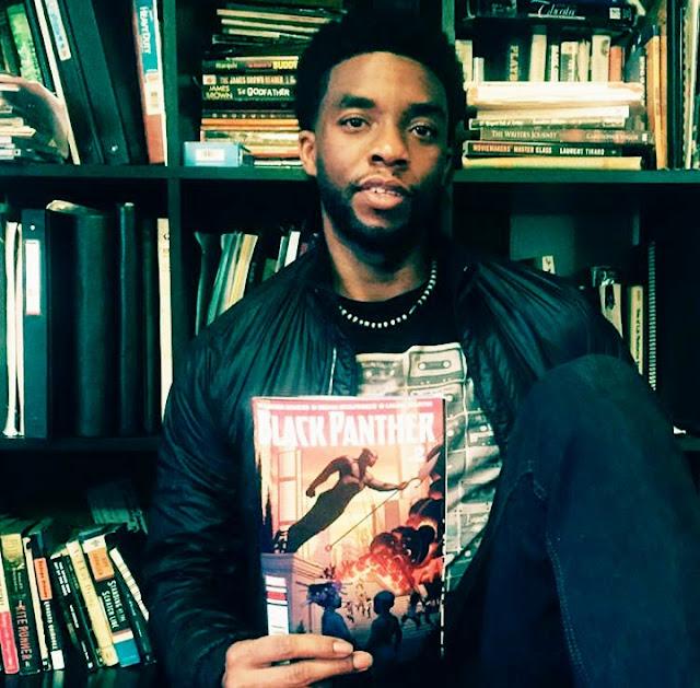 Chadwick Bosemen (Black Panther Star) Photos